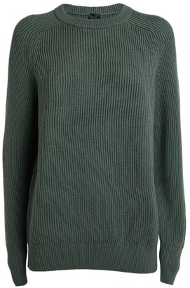 Max Mara Woollen Rib-Knit Sweater