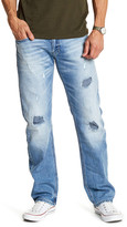 "Buffalo David Bitton Six Slim Straight Leg Jeans - 30-34"" Inseam"