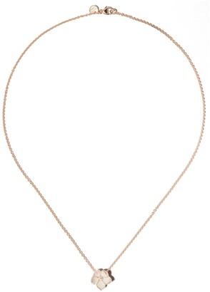 Shaun Leane Cherry Blossom diamond large flower pendant necklace