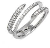 Nadri Women's Kate Pave Coil Ring