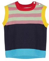 Margherita Toddler Girl's Stripe Knit Vest