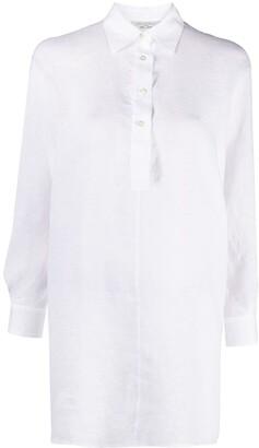 Antonelli Long Linen Shirt