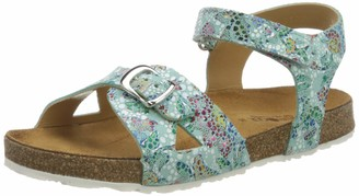 Haflinger Girls Bio Fritzi Ankle Strap Sandals