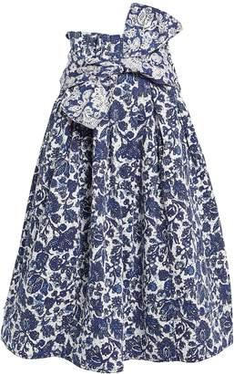 Ulla Johnson Virgil Floral Midi Skirt