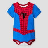 Baby Boys' Spider-Man Role Play Bodysuit Blue