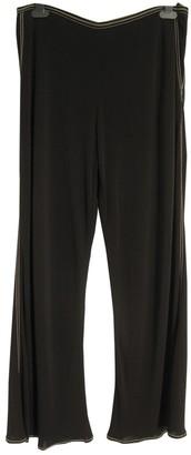 Hermes Black Trousers for Women