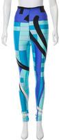 Emilio Pucci Printed Skinny Leggings