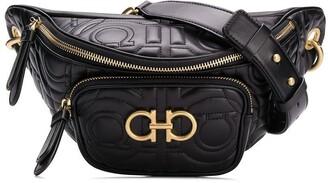 Salvatore Ferragamo Quilted Logo Belt Bag