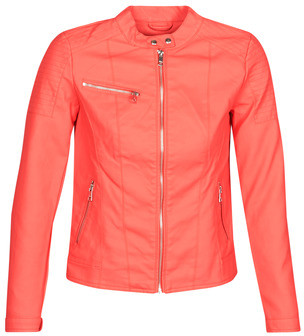 Only ONLMELANIE women's Leather jacket in Red