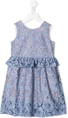 Hucklebones London Floral Embroidered Dress