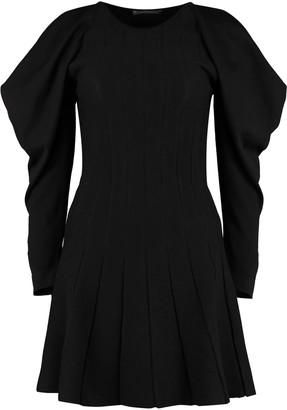 Alberta Ferretti Ribbed Knit Dress
