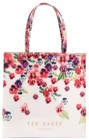 ted baker london large scatter pansy icon tote pink