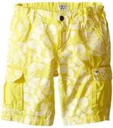 Armani Junior Hawaiian Shorts (Toddler/Little Kids)