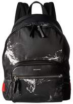 Neil Barrett Liquid Ink Classic Backpack