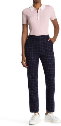 Rag & Bone Poppy Printed High Waisted Wool Blend Trousers