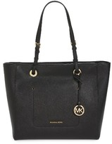 MICHAEL Michael Kors Large Walsh Saffiano Leather Tote - Black