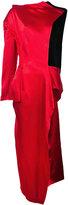 Yohji Yamamoto wrapped stole coat - women - Rayon/Cupro/Polyester - 1