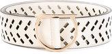 Salvatore Ferragamo laser-cut Gancio belt - women - Calf Leather - 85
