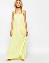Wildfox Couture Stripe Beach Maxi Dress