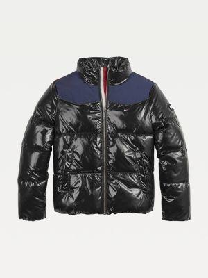 Tommy Hilfiger High-Shine Puffer Jacket