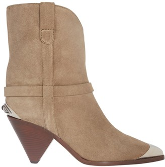 Isabel Marant Limza Suede Ankle Boots