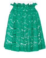 No.21 No. 21 Glory Top Ruffle Lace Skirt