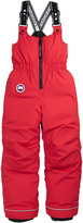 Canada Goose Wolverine Pants. Red ripstop ski pants with duck down padding