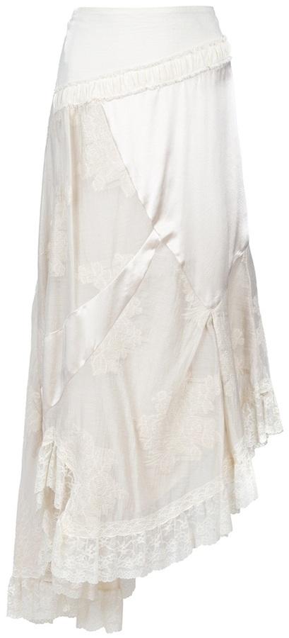 Antonio Marras Vintage asymmetric maxi skirt