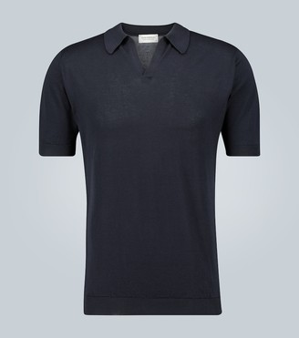 John Smedley Noah Sea Island cotton polo shirt