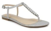 Badgley Mischka Women's Nature Flat Dress Thong Sandal Women's Shoes