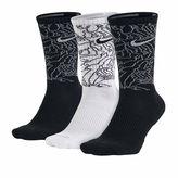 Nike Mens 3-pk. Dri-FIT Triple Fly Crew Socks - Big & Tall