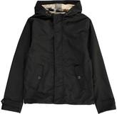 Burberry Tartan-Lined Jacket