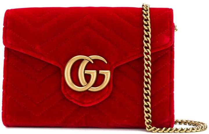 a9628bdee9dc Gucci Wallet With Chain - ShopStyle