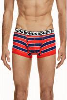 Bonds Mens Striped Fit Trunk