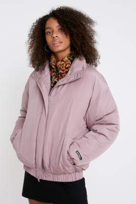 Urban Outfitters Iets Frans... iets frans. Padded Bomber Jacket - purple XS at
