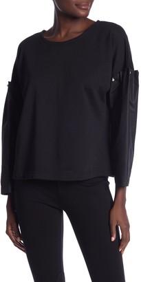 Vertigo Contrast Sleeves Pullover