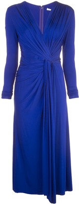 Jason Wu Collection ruched style dress