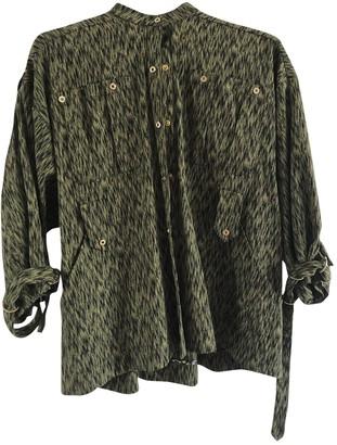 Matthew Williamson Green Silk Coat for Women