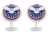 Tateossian Rotating American eagle cufflinks