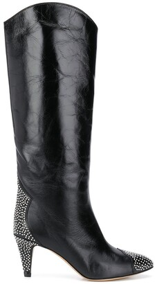 Isabel Marant Studded Knee-High Boots
