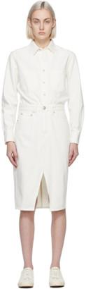 Rag & Bone Off-White Denim All In One Dress