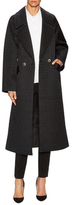 Temperley London Anfisa Silk Quilted Coat