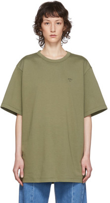 Juun.J Khaki Graphic T-Shirt