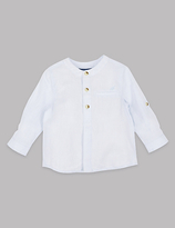 Autograph Pure Cotton Long Sleeve Shirt