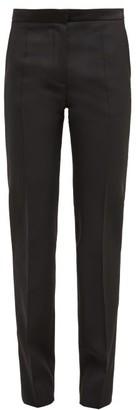 Pallas Paris Don Juan Mid-rise Wool-twill Trousers - Black