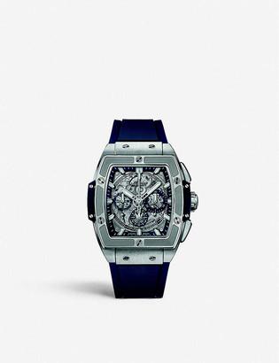 Hublot 641.NX.7170.LR Spirit Of Big Bang titanium and rubber watch