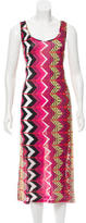 Carven Printed Midi Dress