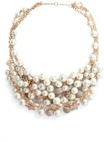 Jenny Packham Women's Shaky Drama Collar Necklace