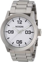 Nixon Men's Private White Dial Stainless Steel