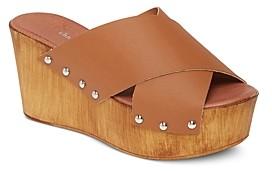 Charles David Women's Fiji Cross Strap Platform Sandals